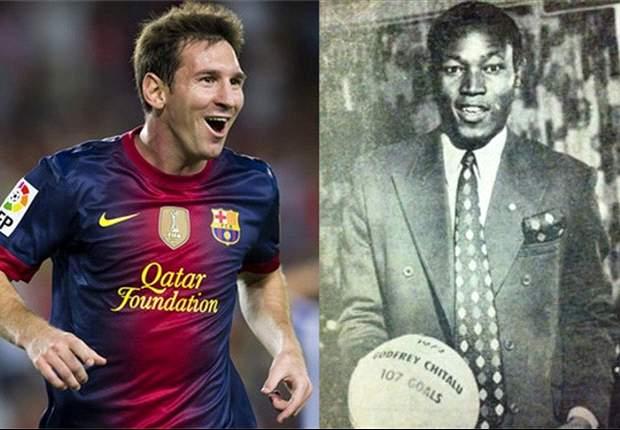 Chitalu, Zico y los jugadores que dicen haber hecho más goles que Messi. Las parodias de Mourinho, Guardiola y Toquero opinan