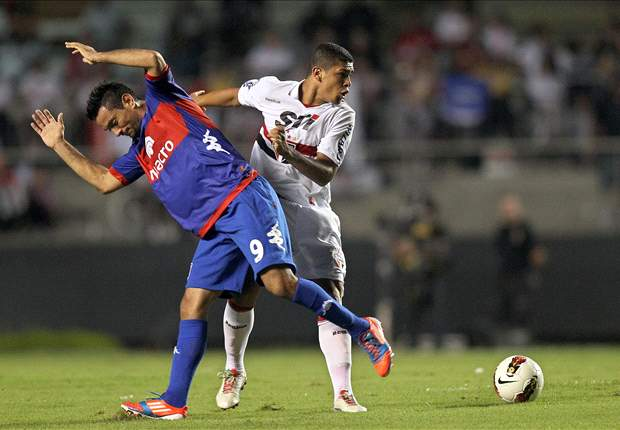 Arsenal-owned Denilson nets comedy own goal for Sao Paulo