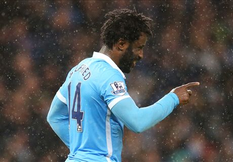 Late Toure goal gives Man City win