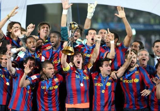 Se cumplen tres años del primer Mundial de Clubs del Barcelona