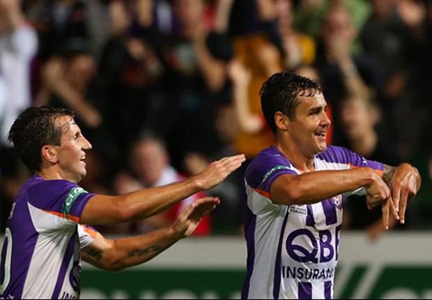 Perth Glory 3-0 Newcastle Jets: Dodd brace sinks Jets
