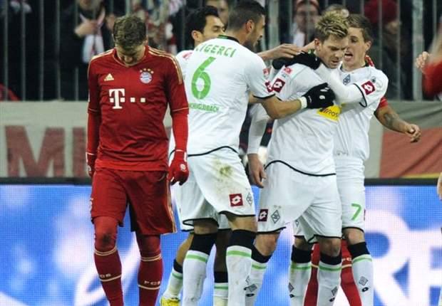 Einseitiges Spiel in München: Gladbach trotzt den Bayern einen Punkt ab!