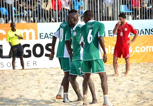 Nigeria's Beach Soccer team on the cusp of retaining Copa Lagos Sand Eagles lead the way at 2012 Copa Lagos