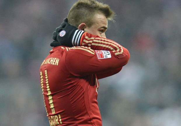 Bayern Munich handed Shaqiri injury blow