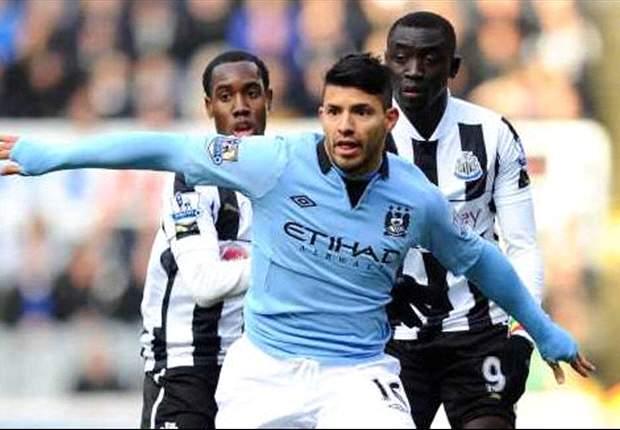 Newcastle-Manchester City 1-3: Non basta il cuore ai Magpies, Aguero, Javi Garcia e Yaya Tourè riportano il sorriso a Mancini
