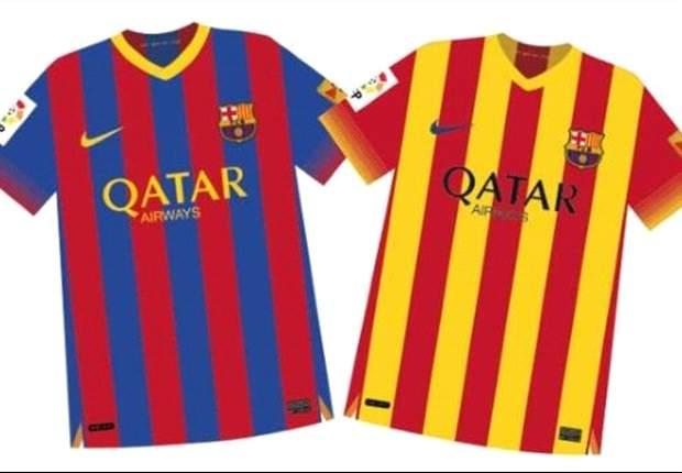 Se filtran las camisetas del Barcelona para la temporada 13/14