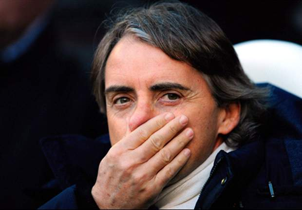 Mancini acredita em tropeço do Manchester United