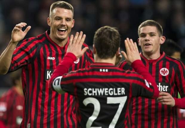 Frankfurt krönt Hinrunde mit souveränem 2:0 in Wolfsburg