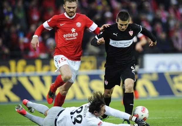 Mainz dreht das Spiel und gewinnt mit 3:1 gegen Stuttgart