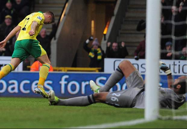 Norwich winger Pilkington blasts referee Probert after simulation booking