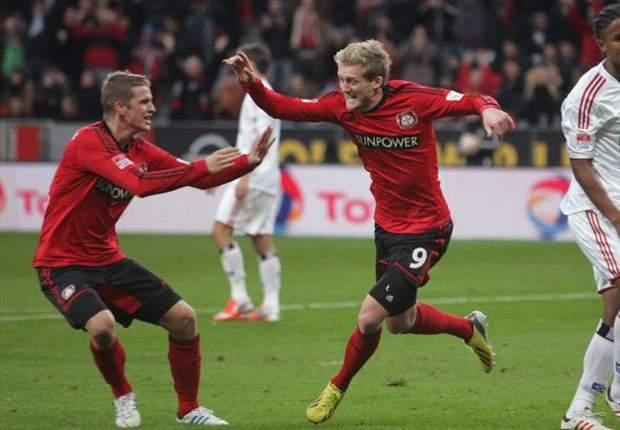 Bayer Leverkusen 3 x 0 Hamburgo: Leverkusen fecha primeiro turno com goleada e vice-liderança