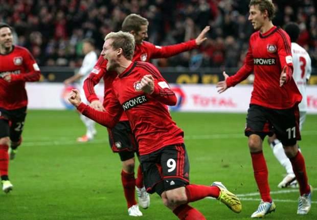 Als Vize in die Pause: Leverkusen siegt souverän mit 3:0