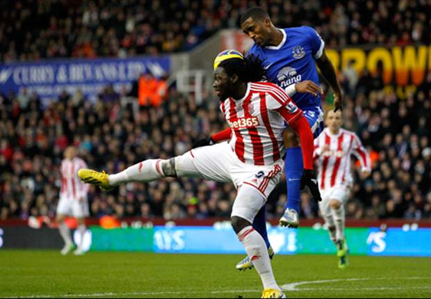 Stoke 1-1 Everton: Jones rescues point as Fellaini loses his head