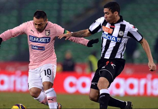 Udinese in slotfase naast Palermo