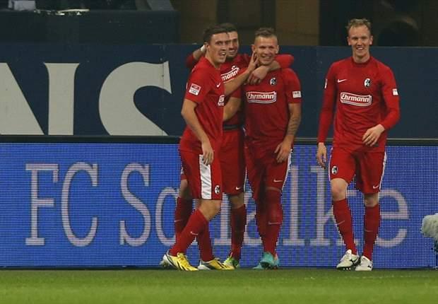 Libas Schalke, SC Freiburg Melesat Ke Peringkat Lima