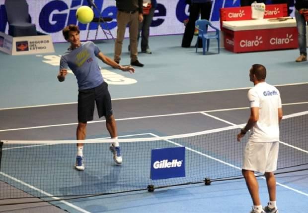 Federer vs Mondragón