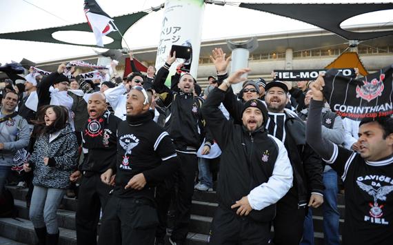 Um domingo qualquer: Corinthians, campeão do Mundo 2012