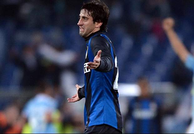 Milito scores in return from injury