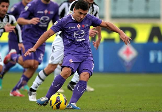 David Pizarro abandonó en Fiorentina