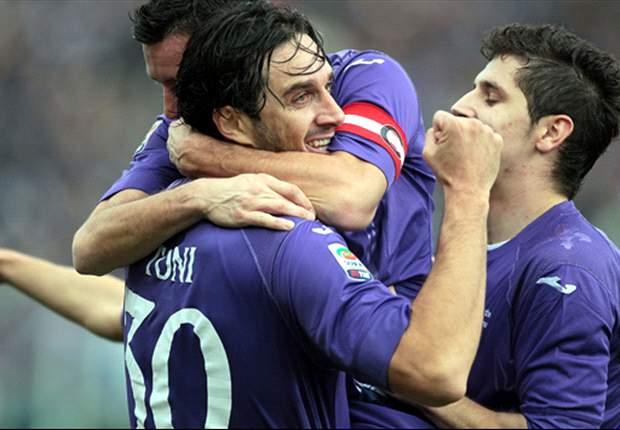 A la Fiorentina le bastó un tiempo para golear al Siena