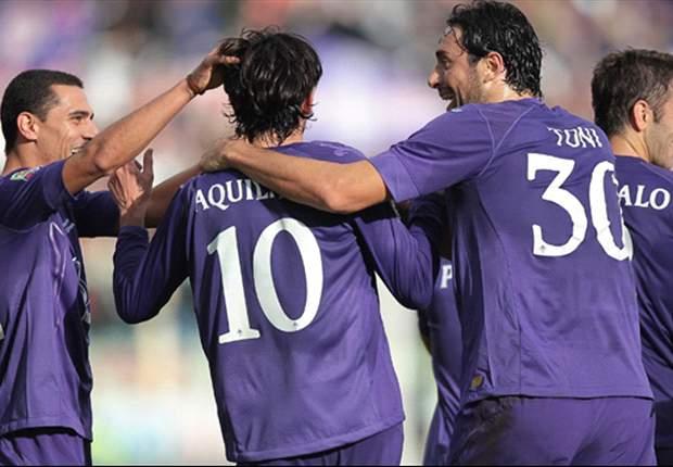 Fiorentina rekent simpel af met Siena