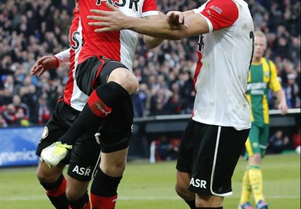 Immers terug in basisteam Feyenoord