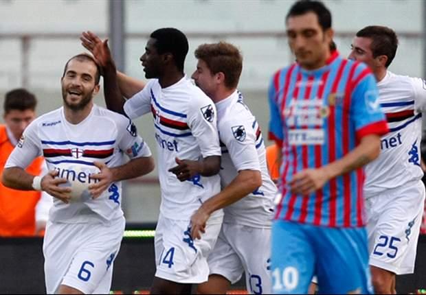 Punto Sampdoria - Sicilia aspra ed amara per i blucerchiati: KO senza nessuna reazione, ed anche Ferrara ci mette del suo