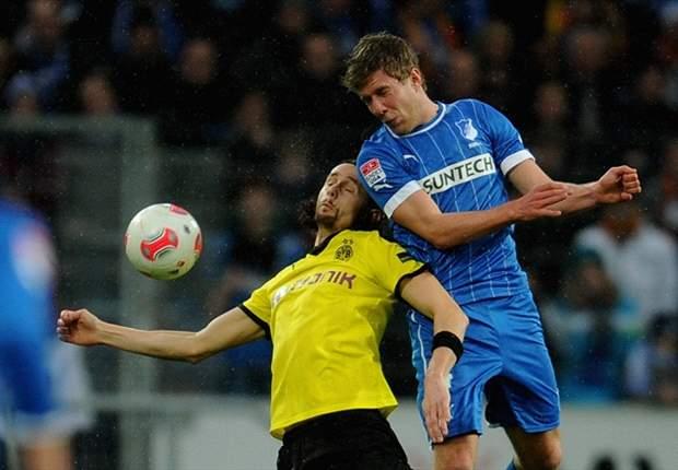 Dortmund na rust langs Hoffenheim