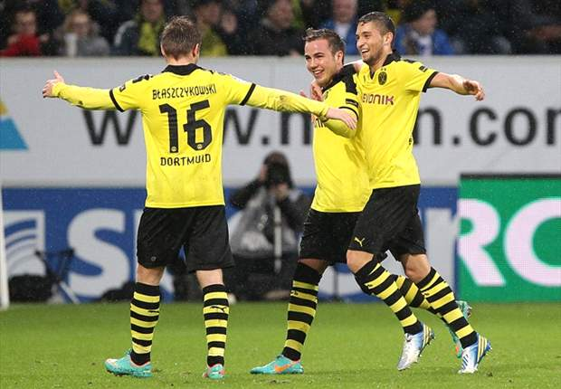 Hoffenheim 1-3 Borussia Dortmund: Champions return to winning ways