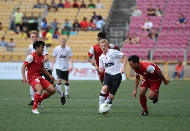 NexLions Cup: Singapore Selection 1-2 Man Utd U19