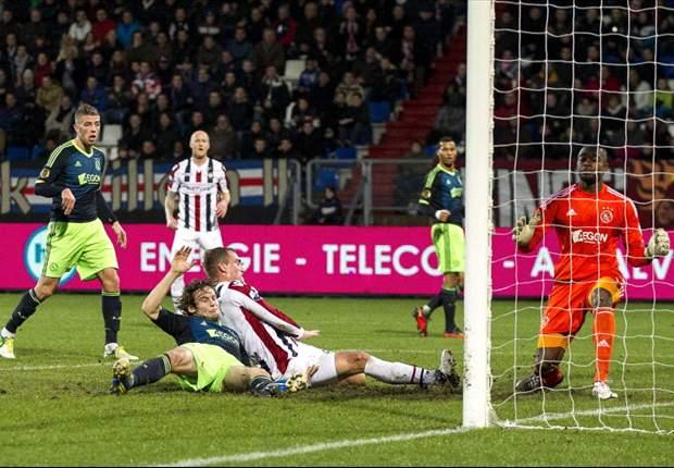 Kalahkan Willem II Tilburg, Ajax Amsterdam Naik Ke Peringkat Tiga