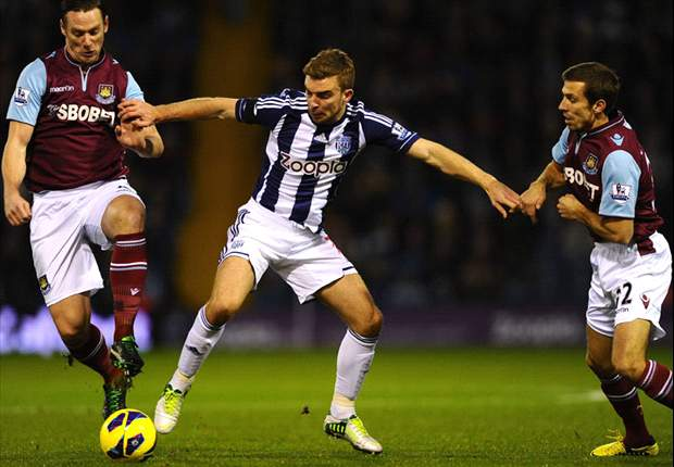 West Brom 0-0 West Ham: Woodwork denies Baggies in goalless draw