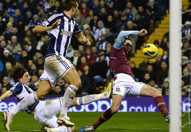 West Brom deelt punten met West Ham
