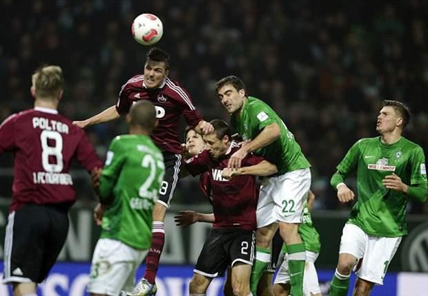 Nurnberg Tahan Imbang Werder Bremen