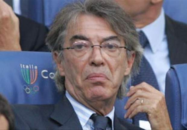 Inter President Massimo Moratti Not Worried Despite Sampdoria Defeat