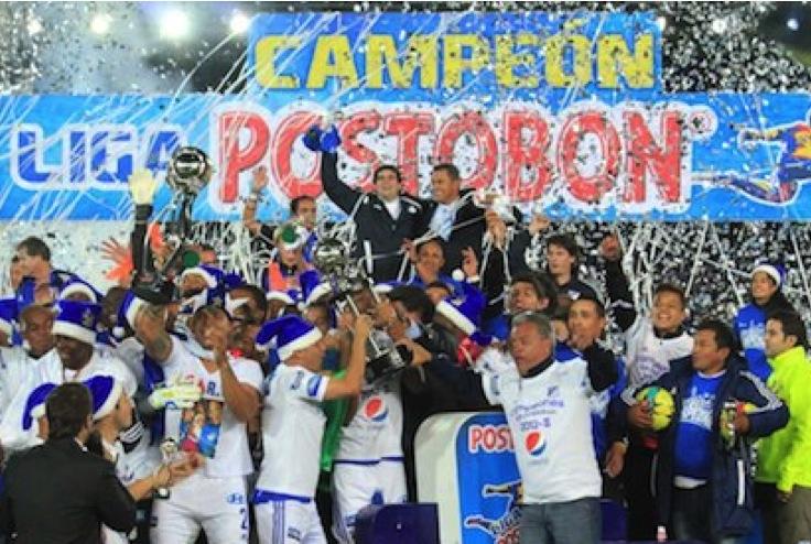 Millonarios 14 veces campeón