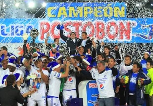 Millonarios é campeão nacional na Colômbia