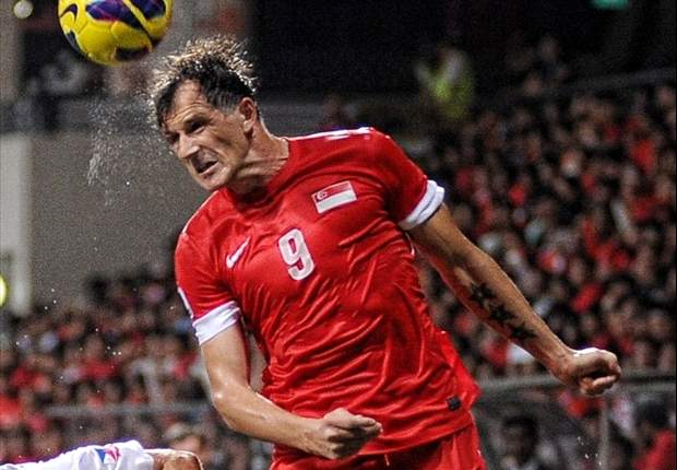 Singapore striker Aleksandar Duric: I want to finish on a high note