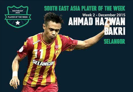 Goal SEA POTW: Ahmad Hazwan Bakri