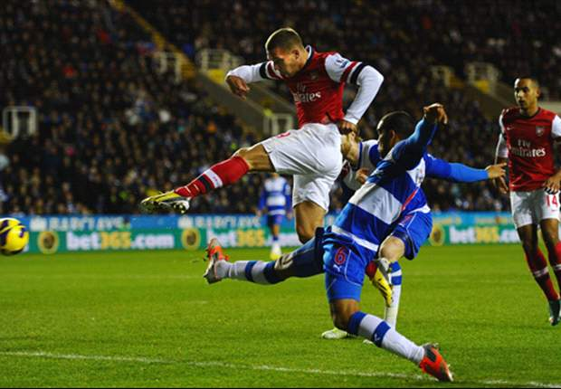 Laporan Pertandingan: Reading 2-5 Arsenal