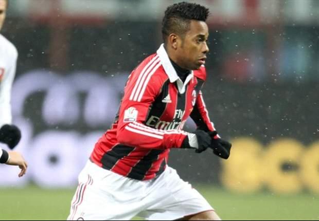Robinho: Quiero quedarme en el Milan durante muchos años más