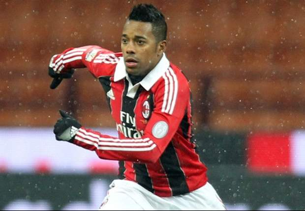 Robinho out of Milan side to face Juventus in Coppa Italia