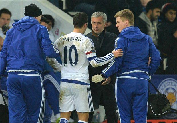 Hazard bị chấn thương là tổn thất lớn cho Chelsea