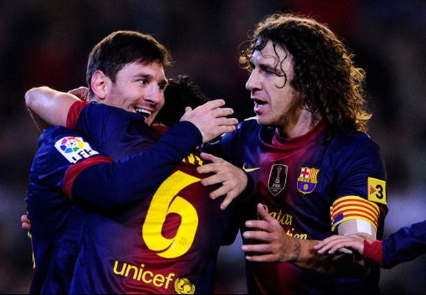Xavi, Messi & Puyol are essential members of best Barcelona ever, says Freixa