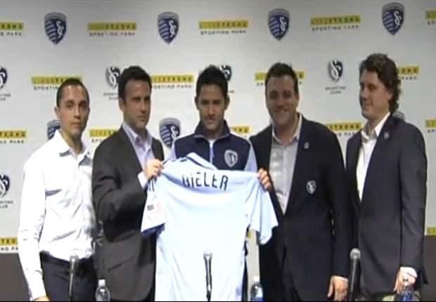 Bieler, nueva figura del Kansas City de la MLS