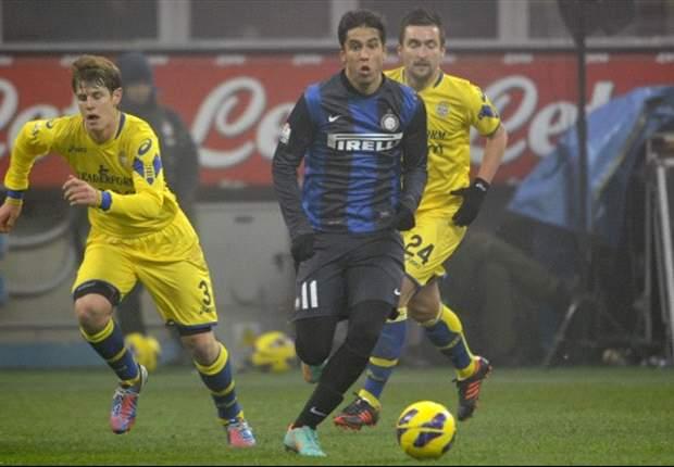 Inter Mailand siegt mühelos gegen Hellas Verona: Cassano überzeugt mit viel Klasse