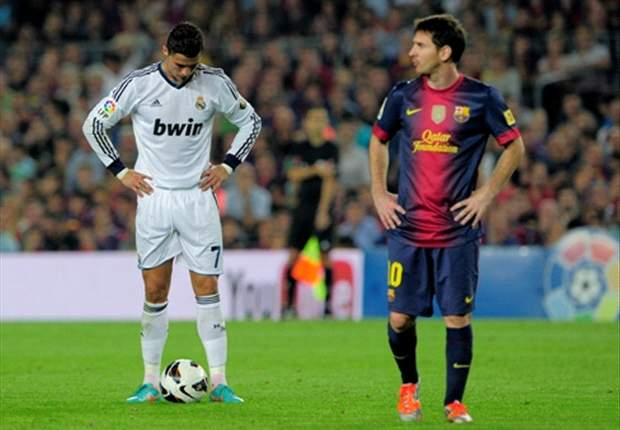 Messi or Ronaldo leadin
