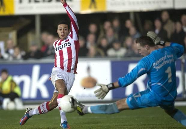 PSV bekert makkelijk verder