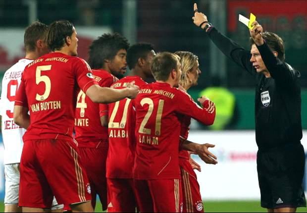 Sammer woest op scheids na rood Ribery