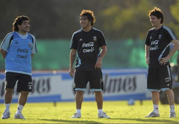Maradona wist dat Messi aanvoerder zou worden